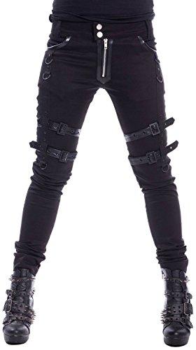 Heartless Clothing Skinny-Jeans Joy Pants Schwarz XXL