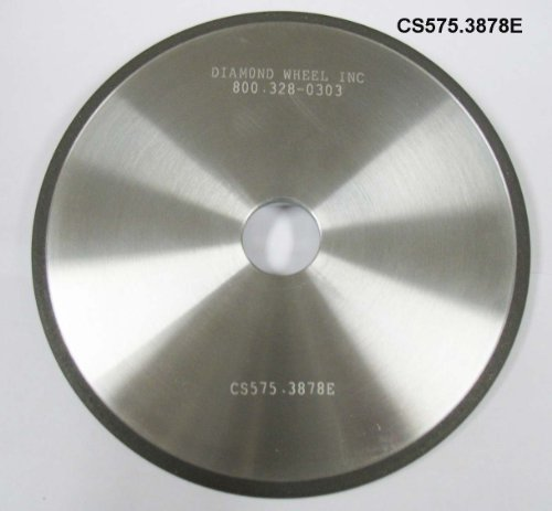 """Super Abrasive CBN 5-3/4"""" Chainsaw Wheels for 3/8 and .404 Pitch Steel Chains"""