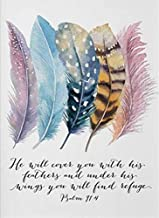 Diamond Painting Kit,Birds Embroidered with Diamonds Feathers Scripture Christian Quotes Diamond Painting Cross Stitch Mos...