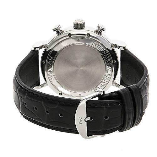[アイダブリューシー]IWC腕時計ポートフィノ・クロノグラフSSx革ベルト黒IW391008メンズ[メーカー保証付][並行輸入品]