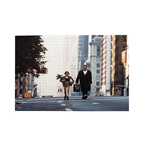 「レオン」ナタリー・ポートマン Leon Natalie Portman 映画のポスター (3) 1000ピース ジグソーパズル アヒル パズル レジャー おもしろい おもちゃ 誕生日プレゼント 贈り物 75*50cm