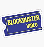Blockbuster Video - Sticker Graphic - Auto, Wall, Laptop, Cell, Truck Sticker for Windows, Cars, Trucks