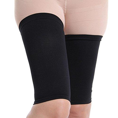 Amincissant les cuisses Shaper élastique extensible jambe en plastique chaussettes ensemble pour jambe