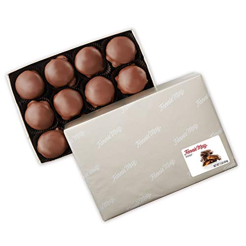 Fannie May Pixies, Milk Chocolate Covered Caramel with Pecans, Chocolate Candy Gift Box, 1 lb