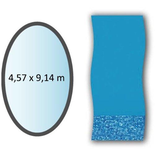 Swimline - li1530sb - Liner Swirl Forme Ovale 4,57x9,14m pour Piscine Hors Sol