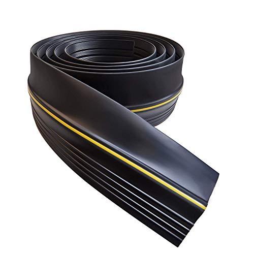 Garage Door Seal, Draught Excluder Bottom Rubber Seal 9.8 Ft (3 m)...