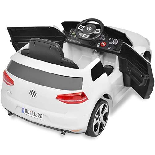 RC Auto kaufen Kinderauto Bild 4: Kinderfahrzeuge Kinderauto Elektroauto VW Golf GTI 7 weiß 12 V Mit Fernbedienung Elektrofahrzeuge*