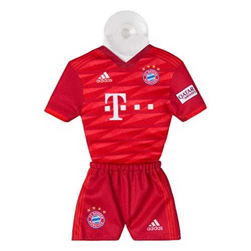 FC Bayern München tricot met zuignap - rood nieuw design FCB - plus gratis sticker Forever München