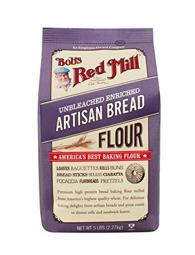 Artisan Bread Flour 5 Pounds 1-Pack