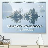 Bayerische Voralpenseen im Jahreslauf (Premium, hochwertiger DIN A2 Wandkalender 2022, Kunstdruck in Hochglanz): Bayerische Voralpenseen im Jahreslauf (Monatskalender, 14 Seiten )