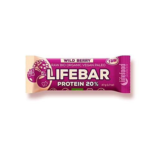 Protein Forest Fruit bar RAW BIO 47 g - LIFEFOOD