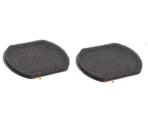 2 Bissell 3-in-1 Stick Vacuum Cleaner Sponges Foam Genuine Filter