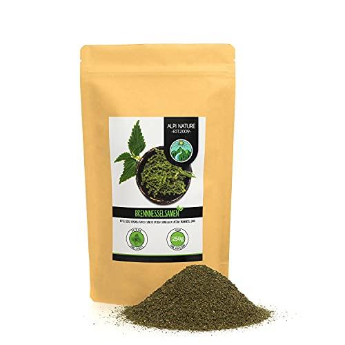 Semillas de ortiga (250g), semillas de ortiga 100% naturales, semillas de ortiga naturales sin aditivos, vegano