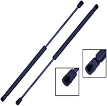 2 Pieces (Set) Tuff Support Rear Window Lift Supports 2007 To 2010 Jeep Wrangler Jk With Hardtop - 23 Inches Extended