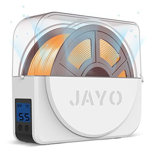 Trockenbox für 3D Filament Speicher, JAYO Filament Trocknerbox, die Filamente während des 3D-Drucks Trocken hält, Kompatibel mit 1,75 mm, 2,85 mm, 3,00 mm Filament und PLA PETG TPU ABS Material