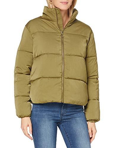Scotch & Soda Maison Womens Weiche Steppjacke aus recyceltem Material Jacket, Military Green 0154, M