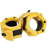 Gewichtheben Barbell Clamp Kragen - DURCH POWER GUIDANCE - Schnellwechsel-Paar Locking 50mm Olympic...