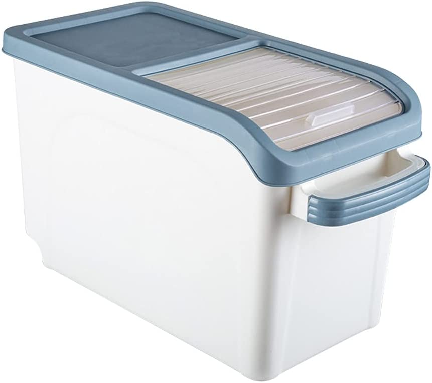 LPPYQ 10kg Rice Storage Box Grain Dispenser Flip Max 43% OFF Lid All items in the store Cereal Food