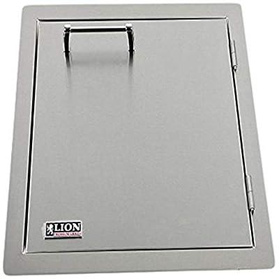 Lion Premium Grills L62945 Vertical Door with Towel Rack, 17-7/8 by 22-Inch