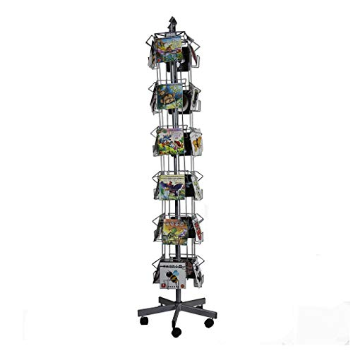 GWXJZ CD Storage Shelf DVD Magazine display stand Wenskaart A5 display stand CD rack DVD houder ansichtkaart post Office Display stand