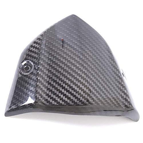 TOOGOO Motorrad Zubeh?R Kohlefaser Instrument Windschutzscheibe Windabweiser Windschutzscheibe Abdeckung für Kawasaki Z1000 2014 2015 2016