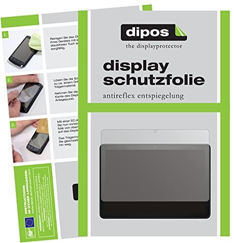 dipos I Schutzfolie matt kompatibel mit Amazon Fire HD 10 (2021) Displayschutz-Folie