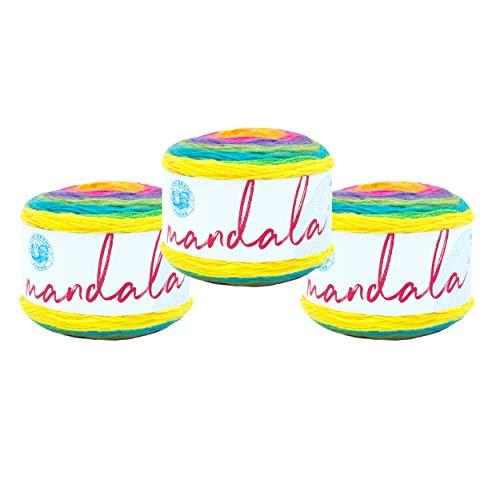 Hilo de la marca Lion #525 – hilo Mandala – 3 unidades