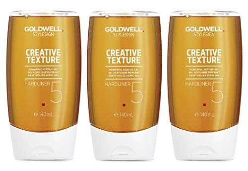 3x 140ml Goldwell Hardliner Haargel Style CreativeTexture 3x140ml ultra-strong 5