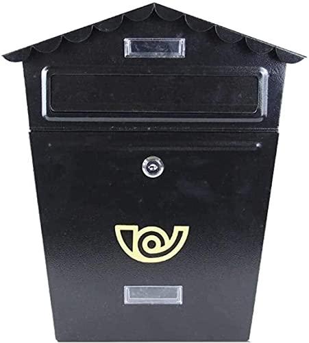 FANNISS Cassetta della Posta,Cassetta Postale Moderna e Minimalista con Lucchetto per Cassetta delle Lettere Cassetta Postale a Muro Cassetta Postale Americana