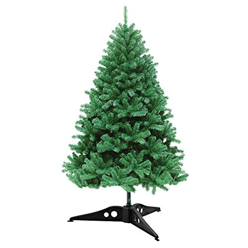 AODOOR 2ft Artificial Christmas Tree with Stand,Holiday Decoration with Branch Tips Perfect for Indoor and Outdoor,Green