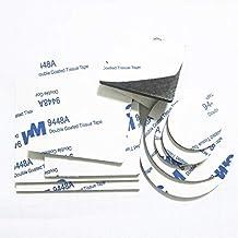 Lkjh Sterke Dubbelzijdig Adhesive Acryl Foam Tape Two Sides Montage Plakband Black Meerdere uitvoeringen afgerond vierkant...