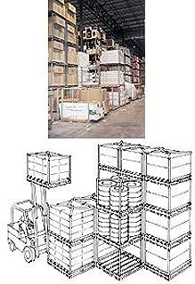 Dyna Rack Corp., Tier Rack Pallet Stacking Frames, Ht606060L, Pallet Size D X W: 60 X 60