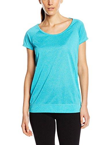 Stedman Apparel Damen Active Performance Raglan/ST8300 Sport T-Shirt, Türkis (Turquoise), 40 (Hersteller Größe:Large)