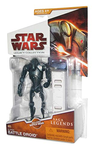 Hasbro Star Wars Legacy Collection 2009 Saga Legends Super Battle Droid Action Figure SL05