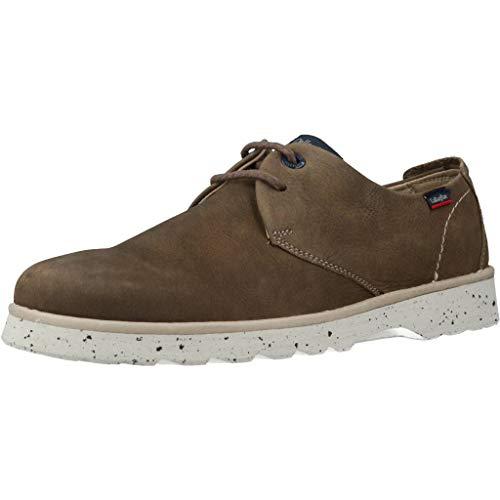 Callaghan Mar, Zapatos de Cordones Derby para Hombre, Verde (Kaki 2), 40 EU