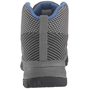 Propet Men's Traverse Hiking Boot, Grey/Black, 15 3E US