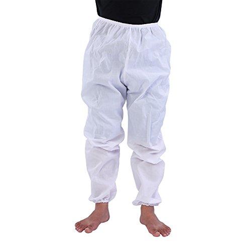 Gatuxe Beekeeping Suit, Professional Hooded Jacket + Pants Beekeeper Coveralls Beekeeping Jacket, for Men Women