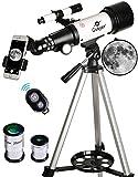 Gskyer Telescope, 70mm Aperture 400mm AZ...