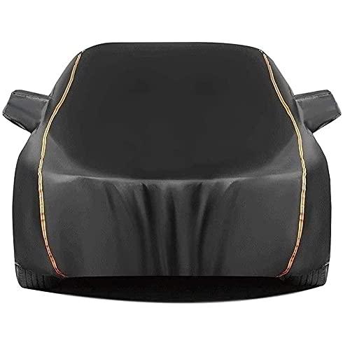 GPFFACAI Cubierta de Coche Impermeable Funda Coche Exterior con Cubierta Antipolvo para automóvil, para Citroen c4 aircross Cubierta Impermeable Completa para automóvil, Resistente a la Lluvia, nie