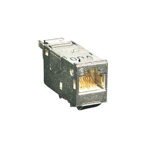 BTR E-DAT modul 88 CAT. 6 Werkzeuglos beschaltbar für 10 GBit Ethernet bis 100m geeignet (5 Stück Modulbuchse)