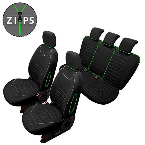 rmg-distribuzione Coprisedili SPECIFICI per TIGUAN Versione (2016 - in Poi) compatibili con sedili con airbag, bracciolo Laterale, sedili Posteriori sdoppiabili R60S0974