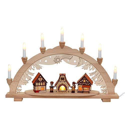 Magique de lampe Chandelier, 10 ampoules, env. 57 x 9 x 38 cm Weihnachtsbäckerei