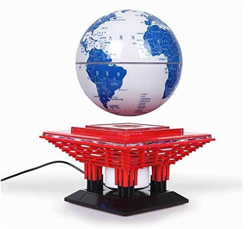WJSW El Nuevo Altavoz Bluetooth de levitación magnética (Modelos Globo) con Sistema de levitación magnética para teléfonos Inteligentes, tabletas, computadoras portátiles, PC y Todos los Dispositivos