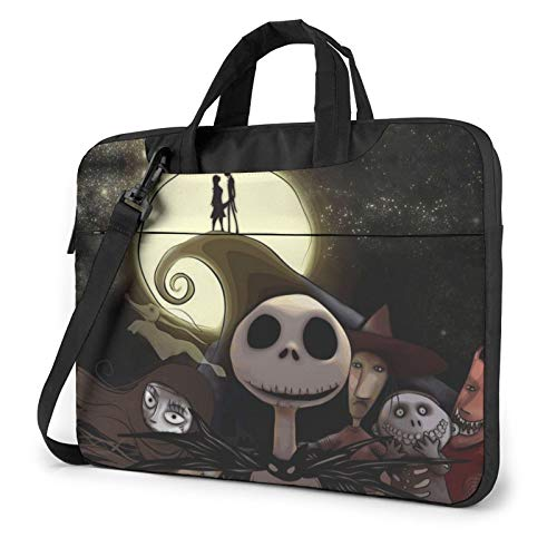Nightmare Before Christmas Laptop Sleeve Bag Case 14 inch MacBook Air Pro Notebook Sleeve Case Portable Briefcase Tote Cases