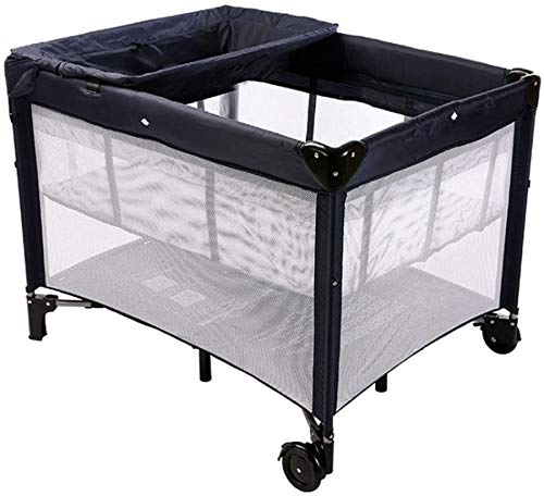 Buy Discount Mopoq Multifunctional Crib, Foldable Crib, Safe and Environmentally Friendly, with Scoo...