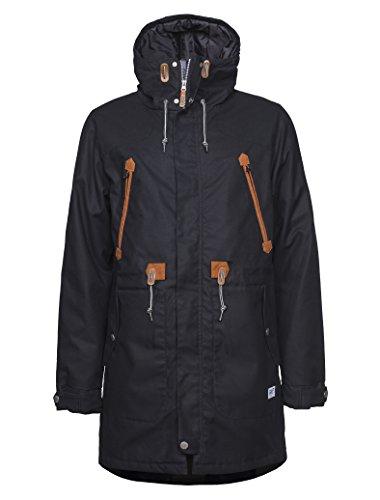 CLWR (Colour Wear) Herren Urban Parka, Black, S