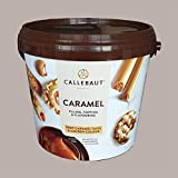 LUCGEL Srl (5 kg) Karamellschokolade zum Füllen Callebaut Füllung für Gebäckeis Süße Croissants