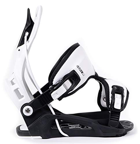 Flow 2020 Alpha White Stormtrooper Snowboard Bindings