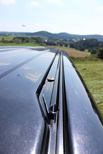 streetandtrack Kederschiene Kederleiste für VW Bus T5+T6 k.Radstand Fahrer. Vorzelt Sonnensegel