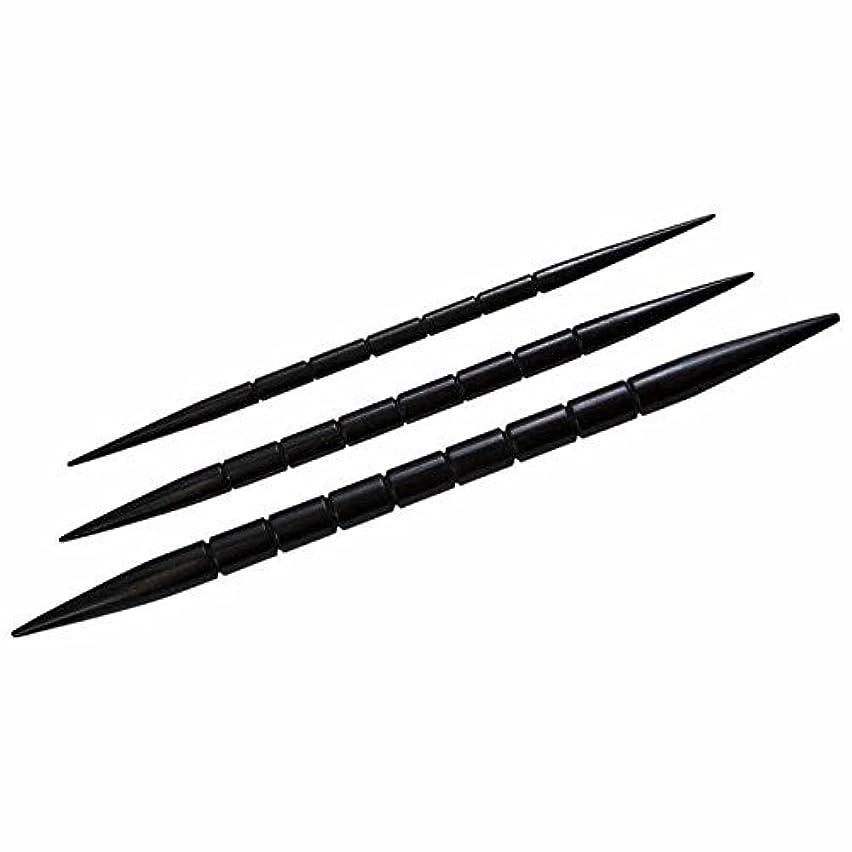 HiyaHiya Cable Needles, Nirvana Ebony Cable Needles